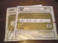 pioneer scrapbook refills pioneer 12x12 album scrapbooking page refills ebay
