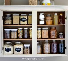 best way to organise kitchen food cupboards kitchen cabinet makeover a healthy pantry