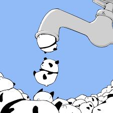 anime halloween gif cute chibi panda gif gifs show more gifs