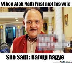 Alok Nath Memes - babuji aloknath funny pictures jokes meme facebook r3 jpg