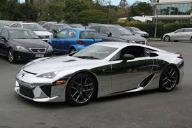 lexus sports car lfa price chromed lexus lfa vehicles