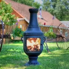 chiminea clay outdoor fireplace binhminh decoration