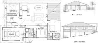 Simple House Design With Plan Elevation And Section Joy