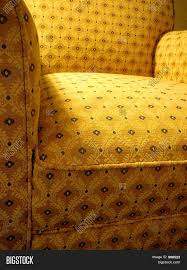 Overstuffed Armchair by Yellow Patterned Overstuffed Armchair Stock Photo U0026 Stock Images