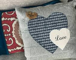 engraved pillows personalized you it was always you heart wall