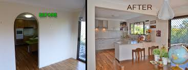 kitchen furniture brisbane brisbane kitchens before and after new kitchen brisbane
