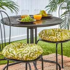 Small Bistro Chair Cushions Outdoor Cushions Pillows For Less Overstock