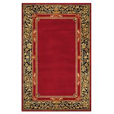 Stripe Outdoor Rug Home Decorators Collection Churchill Red 8 Ft X 11 Ft Area Rug
