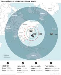 Korean Air Route Map by How North Korea Would Retaliate Stratfor Worldview