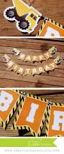 Construction Party Centerpieces by Construction Party Builder Birthday Decorations Construction