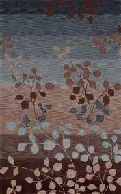 Fall Area Rugs Light Blue And Brown Area Rug Rug Designs