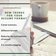 Standard Resume Templates Use The Free Cv Templates 2018 Has To Offer Resume Templates 2018
