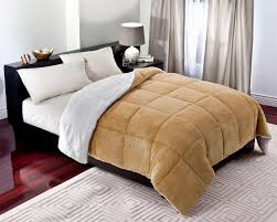Home Design Down Alternative Comforter Cannon Microfleece To Sherpa Down Alternative Comforter Full Queen
