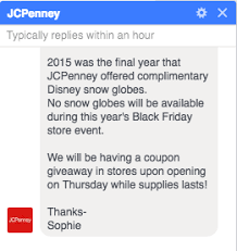 jcpenney bring back the snow globes home