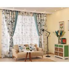 Shabby To Chic by Shabby Chic Floral Jacquard Floor To Ceiling Curtains