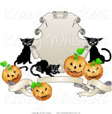 Halloween Banner Clipart by Royalty Free Halloween Pumpkin Stock Animal Designs