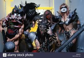 Band Portrait Of Gwar Los Angeles Usa American Thrash Metal