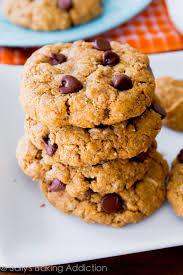 Flourless Peanut Butter Brownie Cookies Sallys Baking Addiction