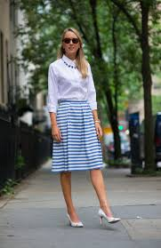 necklace with white shirt images 7 ways to style your button down tops this summer glam radar jpg