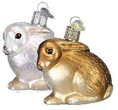merck familys world easter glass ornaments light