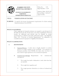 Sample Self Employed Resume by 6 Proof Of Income Letter Self Employed Budget Template Letter