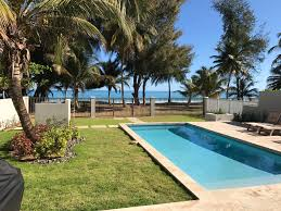 beautiful and luxurious beach front house with pool see video previous next