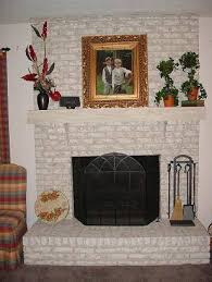 How To Resurface A Brick Fireplace by Brick Anew Fireplace Paint