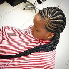 wedding canerow hair styles from nigeria nigerian ghana weaving styles for round faces