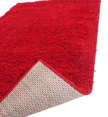 novo shaggy rugs hall runners and round rugs red