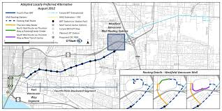 Portland Metro Map by First Bus Rapid Transit Comes To Portland Metro Region News