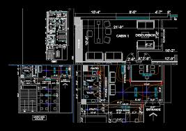 How To Draw Floor Plan In Autocad by Interior Design Project In Autocad Drawing With Interior Autocad
