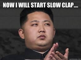 Slow Clap Meme - firetruck teapproval