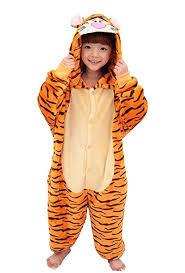 Tigger Halloween Costume Toddler Amazon Tonwhar Children U0027s Onesie Pajamas Halloween Costumes