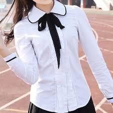 Seragam Sekolah Lengan Panjang merek lehno trend fashion gadis seragam siswa seragam sekolah kemeja