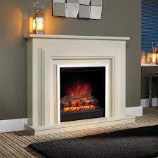 living room fancy white portable fireplace electric fireplaces