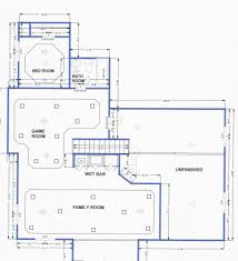 Small House Floor Plans With Basement by Home Plans With Basements 1 Small House Floor Plans With Basement