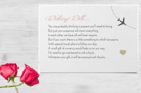 wedding program exles wording wedding invitation wording no gifts