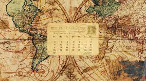Vintage Map Wallpaper by Desktop Wallpaper Calendar September 2012 Call Me Victorian