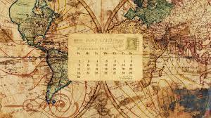 Vintage Map Wallpaper by Desktop Wallpaper Calendar September 2012 Call Me Victorian