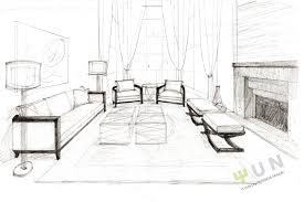 interior design of a home interior designs clipart sketch living room pencil and in color