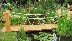 backyard bridges lovable backyard bridge ideas 25 stunning garden bridge design