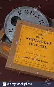 old kodak 400 feet moving film boxes circa 1930 described as stock
