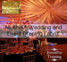 How To Drape Ceiling For Wedding All About Wedding And Event Draping Fabric 40 Denier Satin