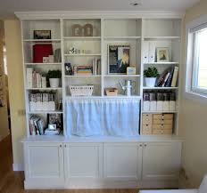 furniture white stained wood wall book cabinet with open shelf