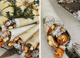 thanksgiving crafts make cornucopia favors for your dinner guests