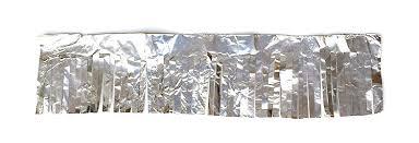 how to make tin foil christmas ornaments