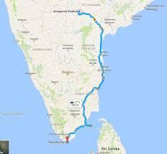Hyderabad Map Hyderabad Kanyakumari Hyderabad On Two Wheels By Jithendra Swaroop