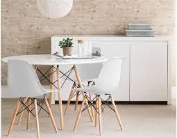 table ronde et chaises table ronde avec chaises table blanche avec rallonge slowhand