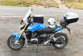 bmw touring bike bmw r1200r lc 2015 in touring mode bmw 1200r rs