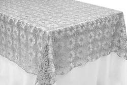 Lace Table Overlays Chemical Embroidery Lace Table Overlays The Cinderella House